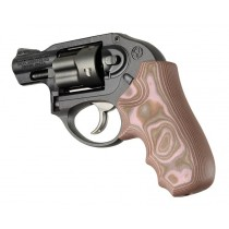 Ruger LCR/LCRx: Pink Lava Smooth G-Mascus G10 Grip
