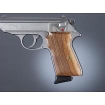 Walther PPK/S & PP: Smooth Hardwood Grip Panels - Pau Ferro