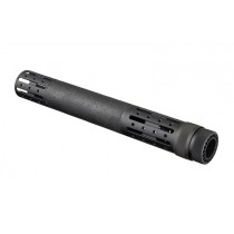 AR-15 / M16: (Extended Length) OverMolded Free Float Forend with Accessory Attachments - Black