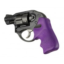 Ruger LCR/LCRx: Purple Rubber Tamer Cushion with Finger Grooves
