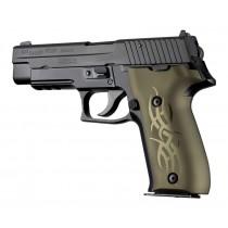 SIG Sauer P226 DAK Tribal Aluminum - Green Anodize
