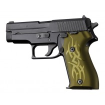 SIG Sauer P225 Tribal Aluminum - Green Anodize