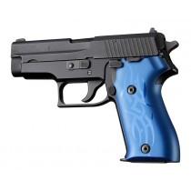 SIG Sauer P225 Tribal Aluminum - Blue Anodize
