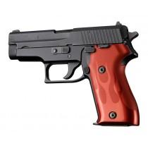 SIG Sauer P225 Flames Aluminum - Red Anodize