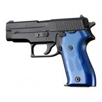 SIG Sauer P225 Flames Aluminum - Blue Anodize