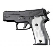 SIG Sauer P225 Flames Aluminum - Clear Anodize