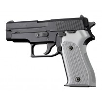 SIG Sauer P225 Checkered Aluminum - Matte Clear Anodize