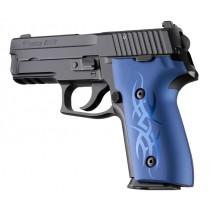 SIG Sauer P228 P229 DAK Tribal Aluminum - Blue Anodize