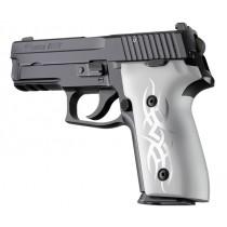 SIG Sauer P228 P229 DAK Tribal Aluminum - Clear Anodize