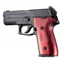 SIG Sauer P228 P229 DAK Flames Aluminum - Red Anodize