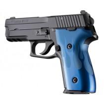 SIG Sauer P228 P229 DAK Flames Aluminum - Blue Anodize