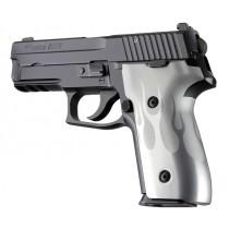 SIG Sauer P228 P229 DAK Flames Aluminum - Clear Anodize