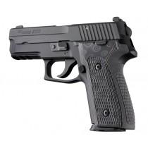 SIG Sauer P228 P229 DAK Piranha Grip G10 - G-Mascus Black/Gray