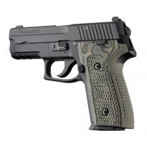 SIG Sauer P228 P229 DAK Piranha Grip G10 - G-Mascus Green