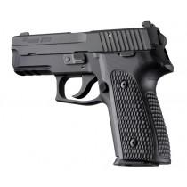 SIG Sauer P228 P229 DAK Piranha Grip G10 - Solid Black