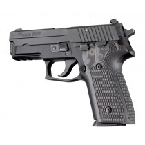 SIG Sauer P228 P229 Piranha Grip G10 - G-Mascus Black/Gray