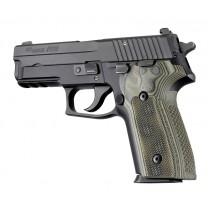 SIG Sauer P228 - P229 Checkered G10 - G-Mascus Green