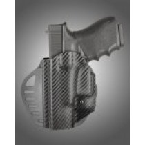 ARS Stage 1 - Carry Holster Glock 18, 19, 23, 25, 32, 38 Left Hand CF Weave