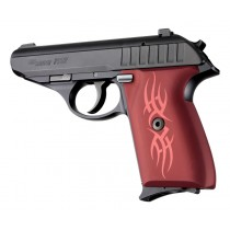 SIG Sauer P230 P232 Tribal Aluminum - Red Anodize