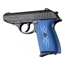 SIG Sauer P230 P232 Tribal Aluminum - Blue Anodize