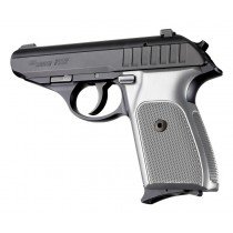 SIG Sauer P230 P232 Checkered Aluminum - Brushed Gloss Clear Anodize