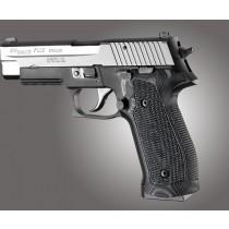 SIG Sauer P226 DA/SA Magrip Piranha Grip G10 - G-Mascus Black