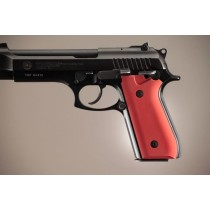Taurus PT-99 PT-92 PT-100 PT-101 With Decocker Aluminum - Matte Red Anodize