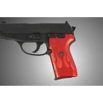 SIG Sauer P239 Flames Aluminum - Red Anodize