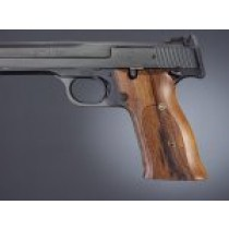 S&W 41 Rosewood Checkered