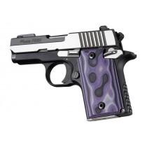 SIG Sauer P938 Ambi Smooth G-Mascus Purple Lava G10