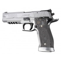 SIG Sauer P226 SAO X5 X6 Checkered G10 - G-Mascus Black/Gray