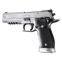SIG Sauer P226 SAO X5 X6 Checkered G10 - Solid Black