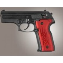 Beretta Cougar 8045 Tribal Aluminum - Red Anodize