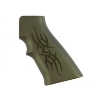 AR15 / M16 Tribal Aluminum - Green Anodize