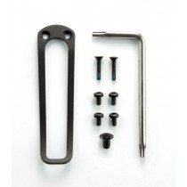 "EX-02 3.375"" or 3.75"" Folder Black Torx Screw and Clip Kit"