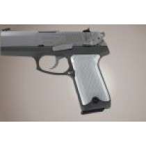 Ruger P94 Checkered Aluminum - Brushed Gloss Clear Anodize