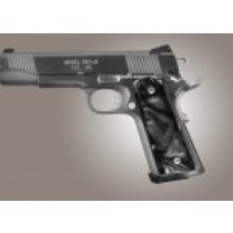 1911 Govt. Model Black Pearlized-Polymer S&A/Techwell Mag Well, Ambi-Cut