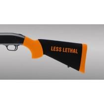 Mossberg 500 12 and 20 Gauge Less Lethal Orange OverMolded Shotgun Stock