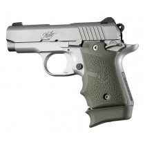 Kimber Micro 9 Ambi Safety Rubber Grip with Finger Grooves OD Green
