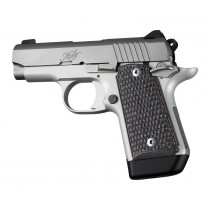 Kimber Micro 9 (Ambi Safety): Black/Grey Piranha G-Mascus G10