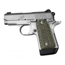 Kimber Micro 9 Ambi Safety Piranha G10 - G-Mascus Green