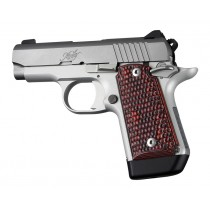 Kimber Micro 9 (Ambi Safety): Red Lava Piranha G-Mascus G10