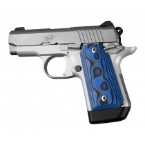 Kimber Micro 9 (Ambi Safety): Blue Lava Smooth G-Mascus G10