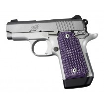 Kimber Micro 9 (Ambi Safety): Purple Lava Piranha G-Mascus G10