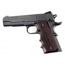 1911 Govt. Model Rosewood With Finger Grooves Checkered