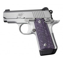 Kimber Micro .380 Ambidextrous Piranha G10 - G-Mascus Purple Lava