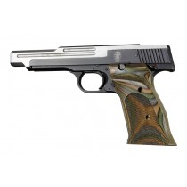 S&W 41 Lamo Camo R. hand thumb Rest checkered