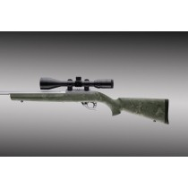 "Ruger 10-22 .920"" Diameter Barrel Ghillie Green Rubber OverMolded Stock"