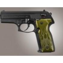 Beretta Cougar 8000 - 8040 - 8357 Flames Aluminum - Green Anodize