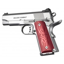 1911 Officers Model Tribal Aluminum - Red Anodized